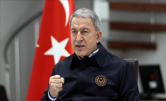 وزير الدفاع التركي لليونان: لا جدوى من الخطابات الاستفزازية
