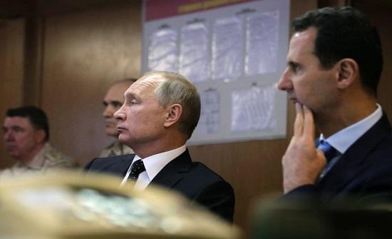 برلماني بنظام الأسد يشن هجوما حادا على بوتين