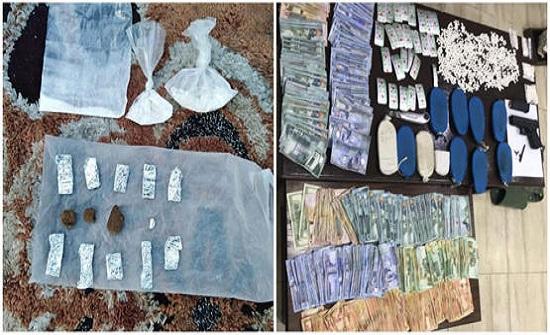 بالصور :  الأمن يضبط 16 مروجا للمخدرات