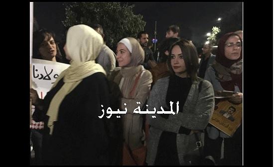 بالفيديو والصور : وقفة في محيط الرابع للمطالبة بالافراج عن اللبدي ومرعي وجميع الاسرى في سجون الاحتلال