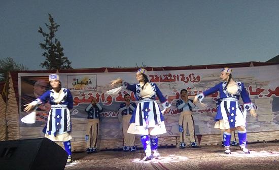 انطلاق فعاليات مهرجان مادبا الثاني للثقافة والفنون