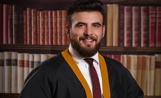الف مبروك للاستاذ باسل الطراونة تخرج نجله ابراهيم