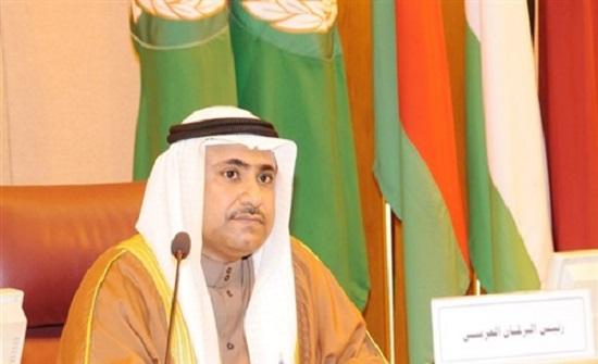 رئيس البرلمان العربي يُدين الهجوم الارهابي في بغداد