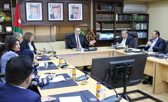 التلهوني: لجنة وزارية لدراسة موضوع حبس المدين بشكل يوازن بين حقه والمدين