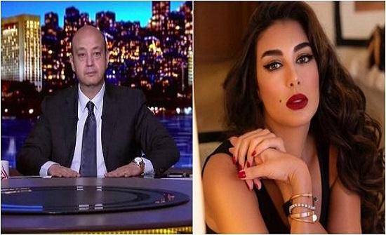 ياسمين صبري تطلب مبلغاً ضخماً للظهور مع عمرو أديب