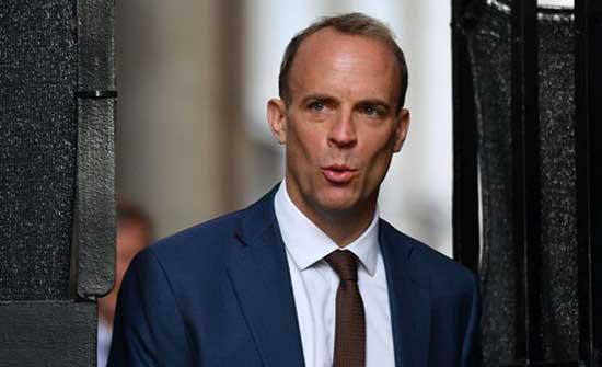 وزير خارجية بريطانيا يناقش مع نظيره الإيراني أهمية الاستقرار في أفغانستان