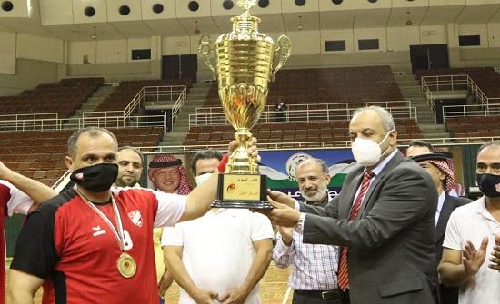 العربي يتوج ببطولة كأس السوبر لكرة اليد