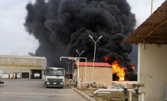 ليبيا.. قصف عنيف يستهدف مطار معيتيقة بطرابلس .. بالفيديو