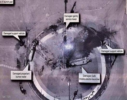 ترامب يتبرأ من فشل الصاروخ الإيراني.. وينشر صورة مقربة