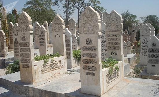 دفن مسيحي عربي بجنازة إسلامية اردنية