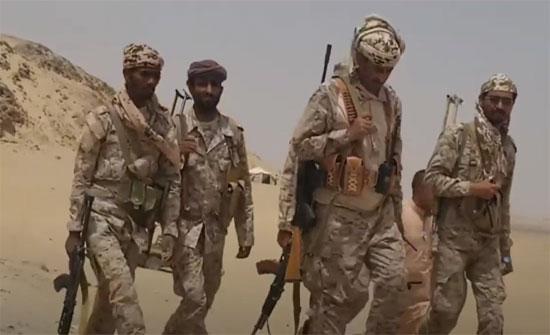 الجيش اليمني يحرر مواقع جديدة شرق وغرب تعز
