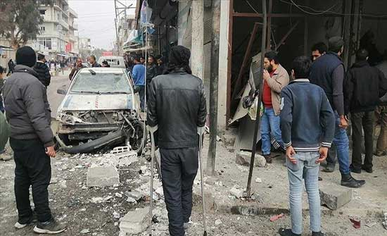 مقتل طفل وإصابة 20 في تفجيرين بجرابلس السورية