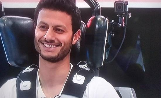"""رامز جلال لـ""""محمد الشناوي"""": """"لو أنت طويل وفرع أنا هخليك تتصرع"""" .. بالفيديو"""