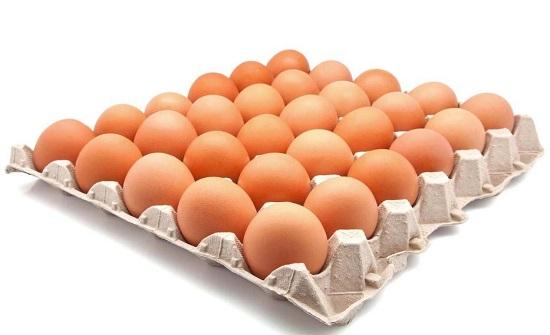 قرار بتخفيض ضريبة كرتون اطباق البيض