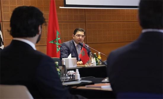 وزير الخارجية المغربي: نرفض المشاركة في مؤتمر برلين الخاص بليبيا وموقفنا دعم الحوارات الليبية المباشرة