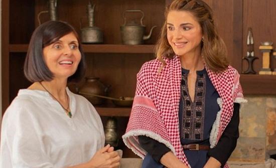 الملكة : بيتك عامر دكتورة ايمان حسين الغزاوي