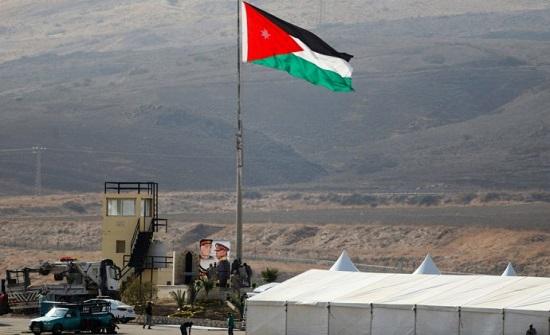مصدر : العلم الأردني مرفوع في منطقة الباقورة منذ عام 1994