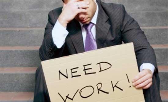 25 % معدل البطالة خلال الربع الأول من عام 2021