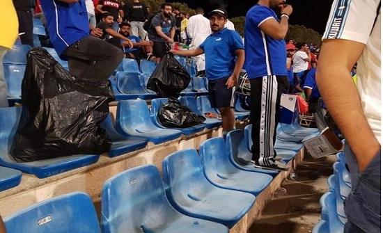 اردنيون :  شكرا لمشجعي الكويت - صور