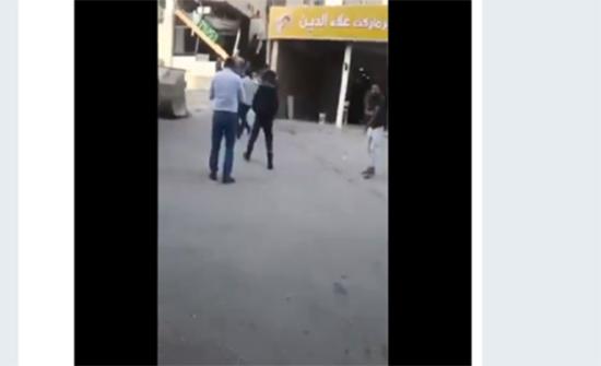 بالفيديو : مقتل فلسطيني بالرصاص خلال حملة إزالة التعديات بنابلس