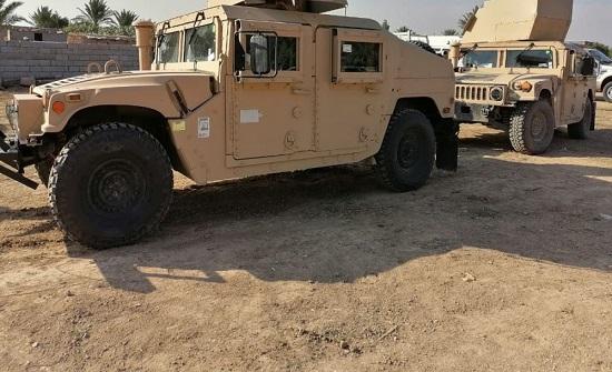 القوات العراقية تحمي رتلا أردنيا وتفشل مخططا إرهابيا بالقرب منه