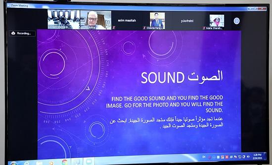 معهد الإعلام ينظّم ورشة عن القصة الإخباريّة التلفزيونيّة