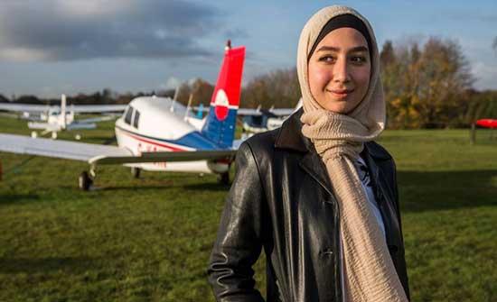 لاجئة سورية تصبح طيارة وسفيرة للنوايا الحسنة .. شاهد