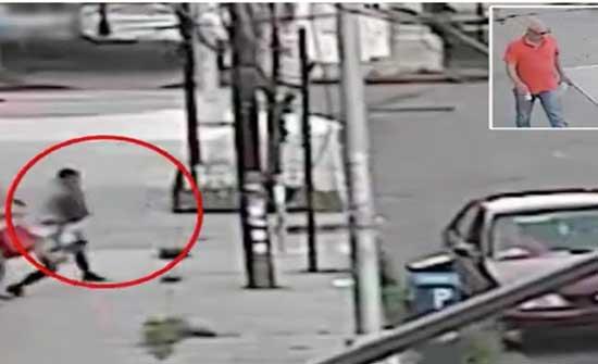 سائق سيارة يخطف طفل من أمه ويهرب به وسط شارع في نيويورك