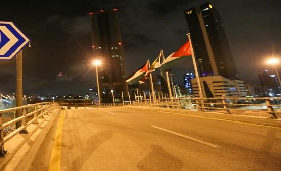 شاهد بالصور.. هكذا بدت العاصمة عمان هذا المساء