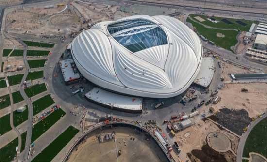 شركة أردنية تشارك بتجهيزات لملاعب مونديال قطر