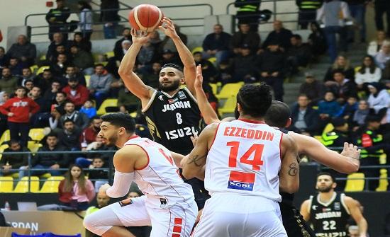 المنتخب الوطني لكرة السلة يخسر أمام نظيره اللبناني