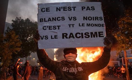 غضب الأمريكيين ينتقل لباريس.. مظاهرات وصدامات (شاهد)