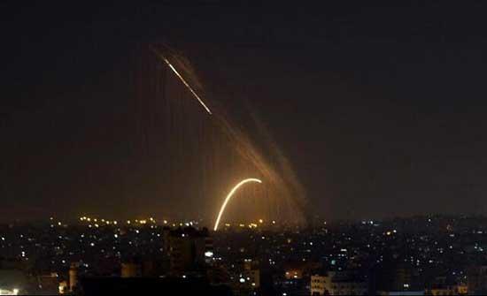 إطلاق قذيفة صاروخية من قطاع غزة تسقط قرب بئر السبع