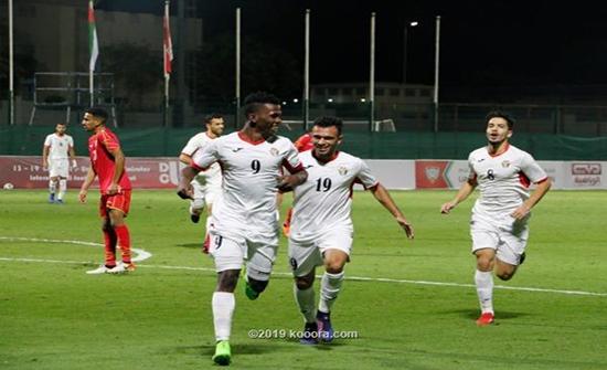 منتخبنا الأولمبي يهزم البحرين في بطولة دبي الودية