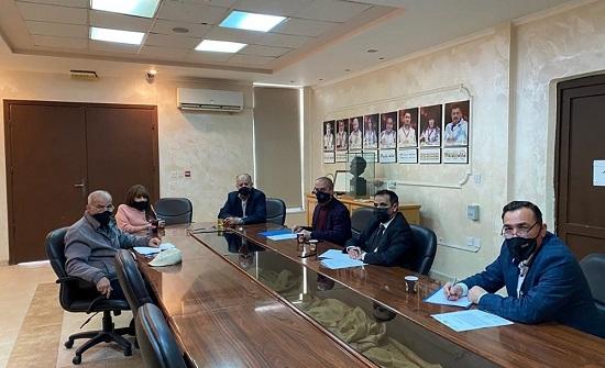 بحث التعاون بين وزارة التربية واللجنة البارالمبية