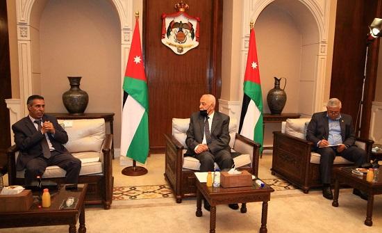 بالصور : رئيس الديوان الملكي الهاشمي يلتقي كتلة الشعب النيابية