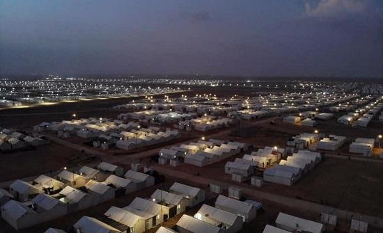 تمديد ساعات تزويد الكهرباء في مخيمي الزعتري والازرق