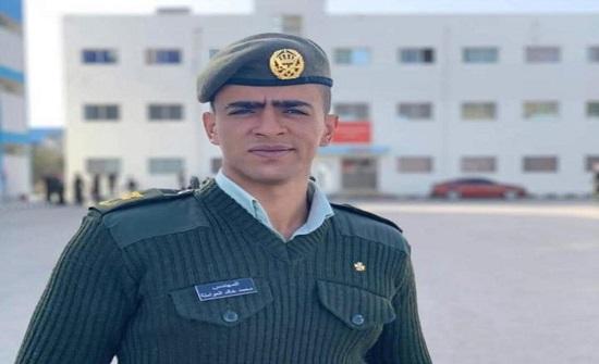 محمد العواملة الف مبروك الترفيع لرتبة ملازم ثاني