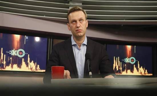الشرطة تقتحم مكتب زعيم المعارضة الروسية