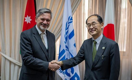 اليابان تقدم دعما ماليا للاجئين السوريين بالاردن