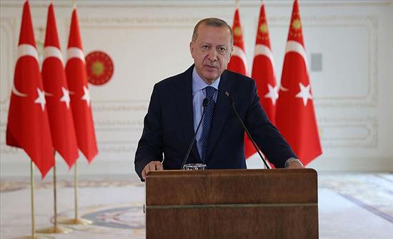 أردوغان: لا أطماع لنا بثروات أحد ومن يهاجموننا عاجزون