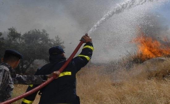 اخماد حرائق مناطق حرجية في حسبان