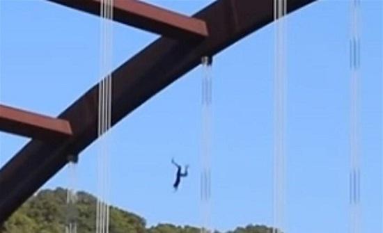 امريكا : قفز عن جسر بهدف زيادة عدد المتابعين على يويتوب