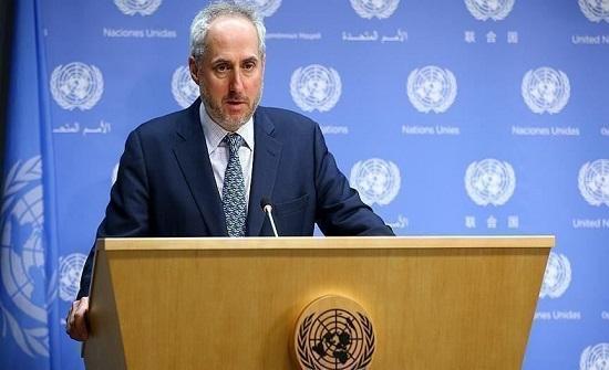الأمم المتحدة ترحب بدعوة السراج لحل الأزمة الليبية سلمياً