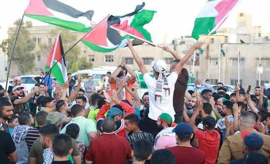 مأدبا: مسيرة تضامنية بقضاء جرينة تضامنا مع الأشقاء بفلسطين