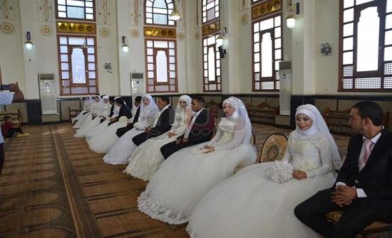 """بالصور - مصر : تنظيم حفل """"زفاف جماعي"""" لـ 22 عروسة من الايتام"""