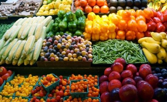 الأمانة: 7700 طن خضار وفواكه واردات السوق المركزي منذ أمس