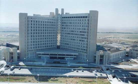 صرف رواتب موظفي مستشفى الملك المؤسس في اربد اليوم