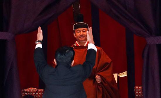 فيديو : مراسم تنصيب إمبراطور اليابان الجديد