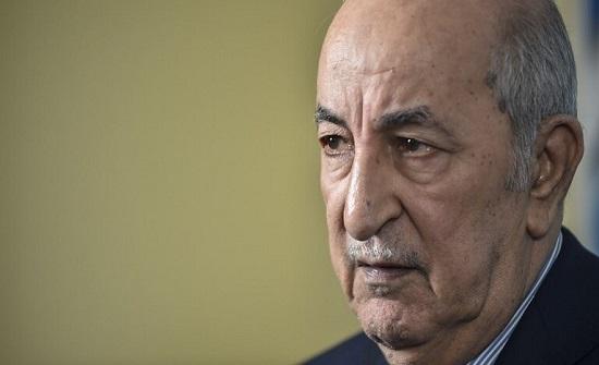 """فيروس كورونا.. الرئيس الجزائري يأمر بـ""""رفع درجة الاستنفار"""" ويصدر قرارات"""